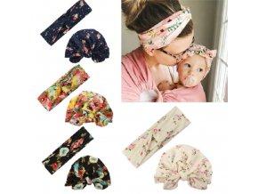 Pro děti- roztomilé čelenky pro maminky a malé parádnice- Dárky pro děti