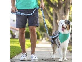 Pes - vodítko pro psy - venčení - krásně barevné - výprodej skladu