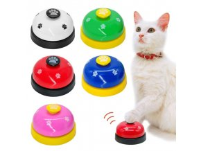 Kočka - pes - hračka pro kočky -hračka pro psa - zvonek - více barev