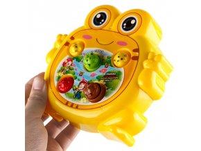 Hračky - hračka pro holčičku i kluka - zábavná žába - dárek na Vánoce
