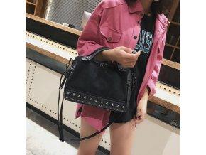 Dámská kabelka - kabelka na rameno - stylová kabelka ve třech barvách