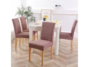 Potah na židle - napínací potahy - více barev