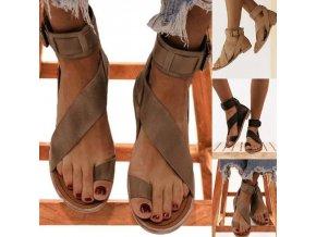 Dámské boty - dámské sandály - sandály na vbočený palec