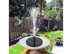 zahrada - solární fontána - zahradní fontána v menším provedení - zahradní dekorace