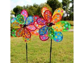 zahrada - zahradní dekorace - větrník - dětská hračka