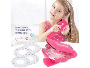 Hračky - hračky pro  dívky - dárky pro děti - tvoření - kreativní lepení kamínků