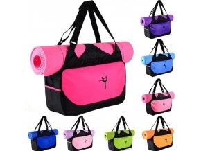 Fitness - cvičení - jóga - taška na cvičení - taška na jógu - hodně barev - výprodej skladu