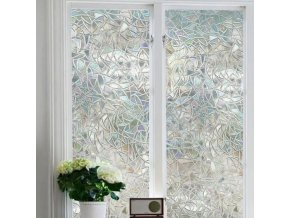 Okna - fólie - fólie na okna - okenní fólie - samolepící folie vzor geometrických tvarů
