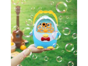 Děti - hračky pro děti - zábava - bublifuk - výrobník bublin ve tvaru tučňáka