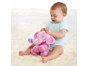 Hračka pro děti - plyšáci - dárek pro děti - slon - hračky pro novorozence