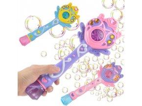 Hračky - zábava - bublifuk - bublifuk ve tvaru kouzelné hůlky - dárek pro děti