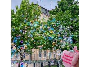 Hračky pro děti - fotoaparát - dětský fotoaparát - bublifuk - bublifuk ve tvaru fotoaparátu vytvářející bubliny