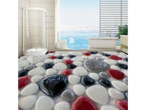 Tapeta - tapeta na stěnu - samolepicí tapeta - krásná voděodolná tapeta s potiskem kamenů
