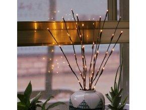 Vánoce - vánoční dekorace - vánoční světýlka - světýlka do vázy - výprodej skladu