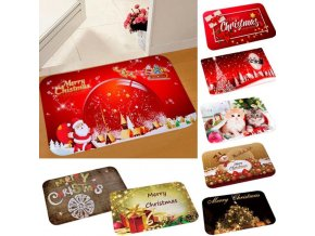 Vánoce - vánoční dekorace - vánoční předložka - předložka - předložka do koupelny - vánoční dárek
