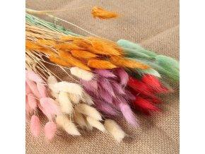 Dekorace - sušená tráva - kytky - umělé květiny - umělá sušená tráva do vázy - svatební dekorace