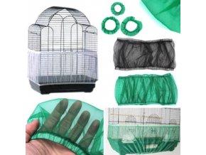 Nylonová síťka do klece pro snadné čistění - klec - klec pro ptáky - výprodej skladu