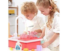 děti - hračky pro děti - hračky pro holky - dětská kuchyňka - kuchyně - krásná dětská kuchyňka s doplňky - vánoční dárek