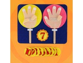 děti - hračky pro děti - vzdělávací hračky - vzdělávací hračka počítání na prstech - matematika - dárek pro děti