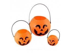 Halloween - halloween dýně - hallowen dýně na sladkosti ve třech velikostech - dárek pro děti - výprodej skladu