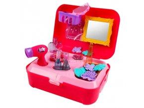 Děti - hračky - hračky pro holky - dětský kosmetický kufřík  - výprodej skladu