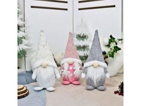 Dekorace - vánoce - vánoční dekorace - vánoční skřítek - krásný vánoční stojící skřítek - vánoční dárek