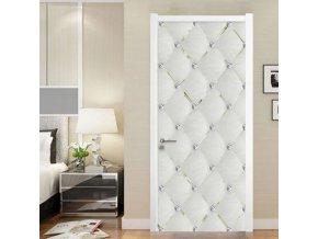 Dveře - interiérové dveře - tapety - samolepící tapety - samolepící tapeta na dveře s motivem diamantů  - výprodej skladu