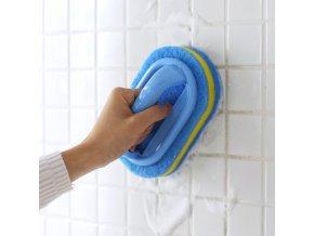 Koupelna - kuchyně - úklid - kartáč - houba - kartáč s rukojetí na čistění koupelny - vánoční dárek
