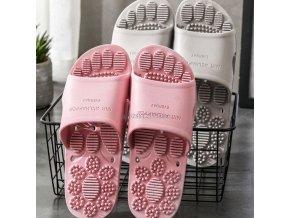 Reflexologie - zdravotní pantofle - pantofle - pantofle zaměřené na reflexologii - masáže - vánoční dárek