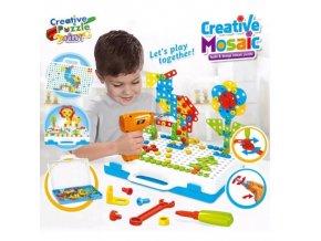 Hračky - vzdělávací hračky - hračky pro kluky - vzdělávací hra pro chlapce  stavební kostky se šroubovákem - vánoční dárek