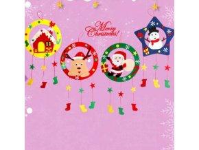 Hračky - hračky pro děti - vánoce vánoční dekorace - dětské vzdělávací hračky - dětská vánoční dekorace na dotvoření - vánoční dárek