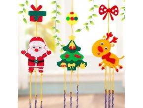 Hry - vánoce - vánoční dekorace - vánoční tvoření - dětská vánoční zábava tvoření závěsné dekorace - výprodej skladu