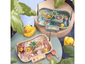 hračky - dětské hračky - stolní hry - stolní hra pro děti chytání rybek - Montessori  - vánoční dárek - dárek pro děti