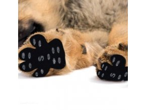 pes - kočka  - nalepovací polštářky na psí packy - výprodej skladu