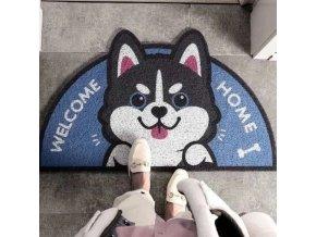 Rohožka - venkovní rohožka s potiskem koček a psů - pes - kočka - koberec