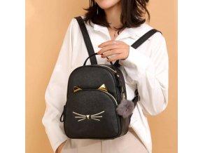 Batohy - módní batoh roztomilé kočky - dámský batoh - školní batoh - výprodej skladu