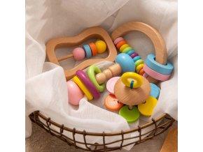Miminko - hračky - set hraček pro miminka - hračky pro děti - výprodej skladu