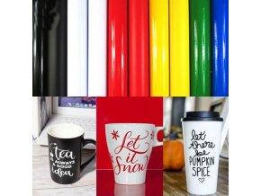 Samolepící fólie - lesklý barevný lepící papír na tvoření - velikonoční tvoření - výprodej skladu