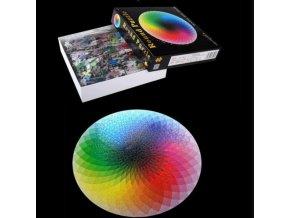 Puzzle - puzzle do kruhu 1000 ks - 3d puzzle - vánoční dárek - dárek pro muže - dárek pro ženu