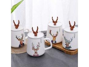 Kuchyně - krásný vánoční hrneček vhodný jako dárek - vánoce - hrnečky - vánoční dekorace