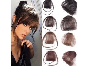 Pro vlasy - sponka do vlasů jako falešná ofina - sponky do vlasů - účesy - výprodej skladu