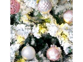 Vánoce - vánoční ozdoby v boxu po 20ks - vánoční ozdoby - vánoční dekorace - výprodej skladu