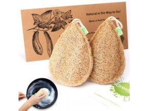Kuchyně - houbičky - ekologická kuchyňská houba na nádobí z kvalitního materiálu - dárek pro ženu - výprodej skladu