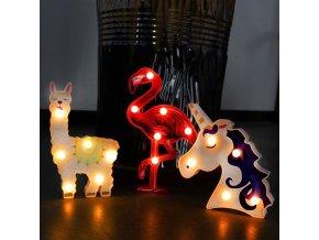 Dětský pokoj - krásná světelná dekorace do dětského pokoje - jednorožec - dekorace - výprodej skladu