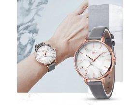 Hodinky - dámské módní hodinky s dvěma varianty pásků - dámské hodinky - dárek pro ženy - vánoční dárky