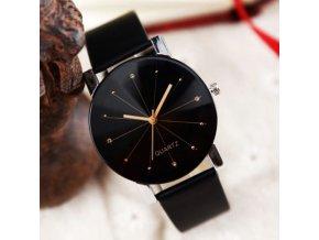 Šperky - hodinky - unisex módní hodinky v černé barvě - dámské hodinky - pánské hodinky