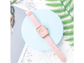Hodinky - dámské módní hodinky s krásným páskem - dámské hodinky - vánoční dárek - dárek pro ženu