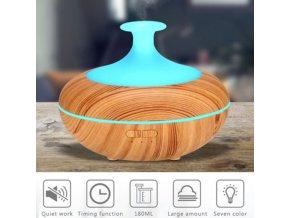 Difuzér - krásný moderní aroma difuzér měnící barvy - aroma difuzér - vánoční dárek - dekorace - výprodej skladu