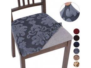Potahy na židle - potahy na sedák židle v různých barvách - napínací potahy - židle - jídelní židle