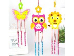 Hračky - tvoření s dětmi - ruční tvoření pro děti závěsná dekorace - kreativní tvoření